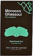 Kup Paski oczyszczające na nos - Too Cool For School Morocco Ghassoul Blackhead Out