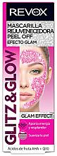 Kup Odmładzająca maska złuszczająca peel-off do twarzy - Revox Glitz & Glow Bio Regulating Peel Off Mask Pink
