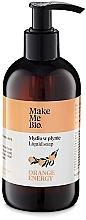 Kup Kremowe mydło w płynie z wodą pomarańczową - Make Me Bio Orange Energy