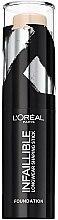 Kup Podkład w sztyfcie do konturowania twarzy - L'Oreal Paris Infaillible Longwear Shaping Stick