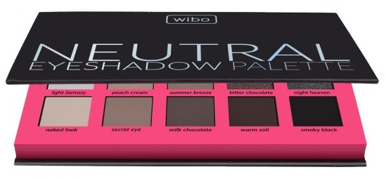 Paleta cieni do powiek - Wibo Neutral Eye Shadow Palette