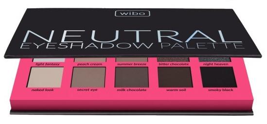 Paleta cieni do powiek - Wibo Neutral Eye Shadow Palette