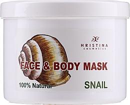 Kup Maseczka do twarzy i ciała z ekstraktem ze ślimaka - Hristina Cosmetics 100% Natural Snail Face & Body Mask