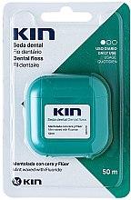 Kup Woskowana nić dentystyczna Mięta - Kin Dental Floss With Wax Minty