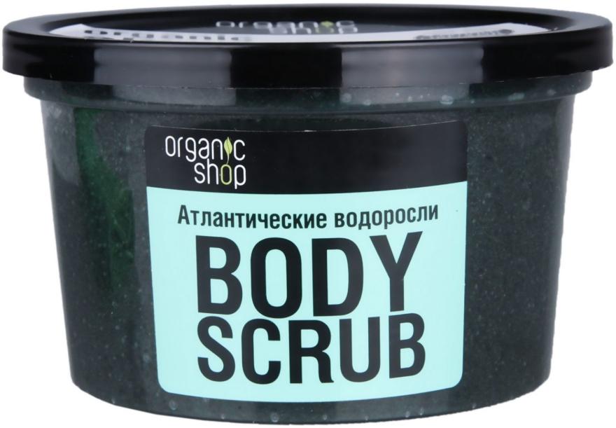 Scrub do ciała Atlantyckie wodorosty - Organic Shop Body Scrub Organic Algae & Sea Salt — фото N3