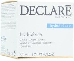 Kup Nawilżający krem do twarzy - Declare Hydroforce Cream