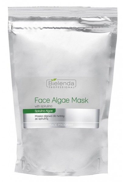 Algowa maska do twarzy ze spiruliną - Bielenda Professional Face Program Face Algae Mask (uzupełnienie)