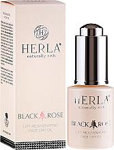 Kup PRZECENA! Organiczny olejek do twarzy Czarna róża - Herla *