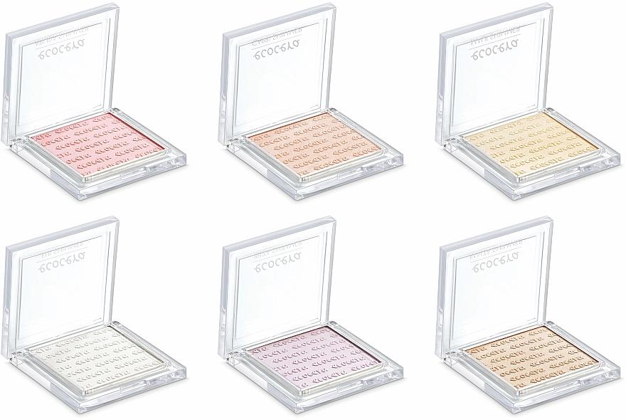 Naturalny rozświetlacz do twarzy - Ecocera Shimmer — фото N9