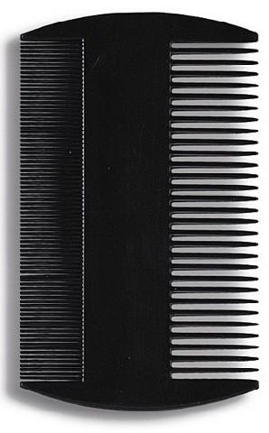 Grzebień do włosów 8.8 cm Czarny - Donegal Hair Comb