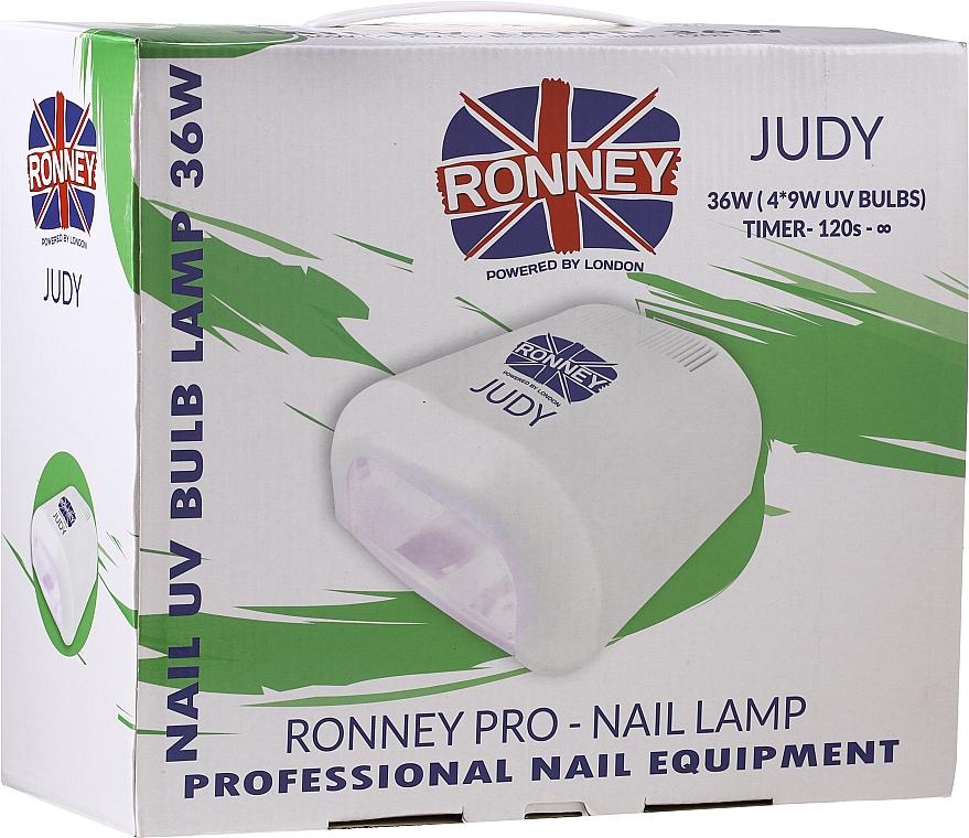 Lampa UV do paznokci, zielona - Ronney Professional Judy UV 36W (GY-UV-230) Lamp — фото N2