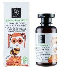 Kup Żel do mycia ciała i włosów dla dzieci Nagietek i miód - Apivita Babies & Kids Eco Bio Baby Kids Hair & Body Wash With Calendula & Honey
