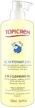 Kup Żel nawilżający 2 w 1 do ciała - Topicrem Soins Bebe Bio Gel Nettoyant