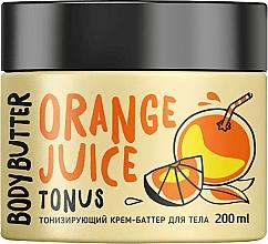 Kup Tonizujące masło do ciała Pomarańcza - MonoLove Bio Orange Juice Body Butter