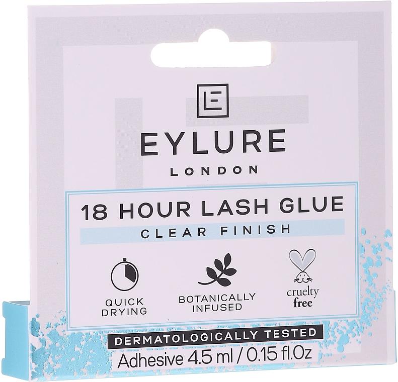 Klej do sztucznych rzęs - Eylure 18 Hour Lash Glue Clear Finish
