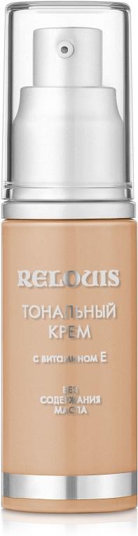 Podkład w kremie z witaminą E - Relouis — фото N1