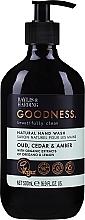 Kup Naturalne mydło w płynie do rąk - Baylis & Harding Goodness Oud, Cedar & Amber Natural Hand Wash