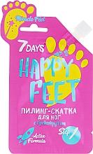 Kup Grejpfrutowy peeling do stóp - 7 Days Happy Feet