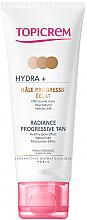Kup PRZECENA! Rozświetlający krem tonujący do twarzy - Topicrem Hydra+ Radiance Progressive Tan *