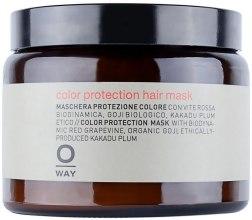 Kup Maska głęboko nawilżająca do włosów farbowanych - Rolland Oway ColorUp (szkło)