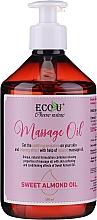 Kup Olejek do masażu z olejem ze słodkich migdałów - Eco U