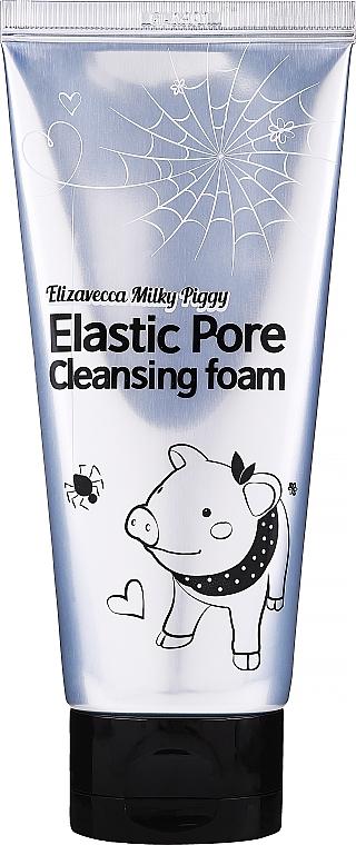 Pianka do mycia twarzy oczyszczająca pory - Elizavecca Face Care Milky Piggy Elastic Pore Cleansing Foam — фото N1