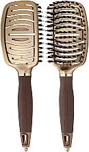 Kup Szczotka do włosów - Olivia Garden NanoThermic Flex Combo