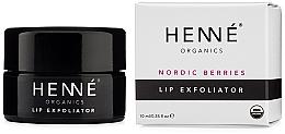 Kup Peeling do ust - Henne Organics Nordic Berries Lip Exfoliator
