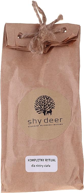 Zestaw - Shy Deer (peel/50ml + elixir/5ml + intimate/gel/5ml + b/balm/10ml + h/cr/5ml + b/balm/5ml + b/balm/10ml + b/milk/5ml) — фото N1