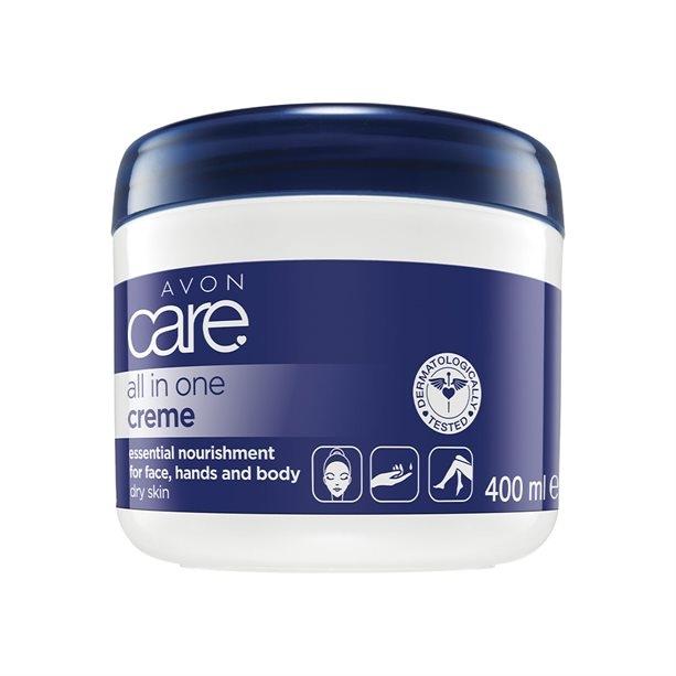 Uniwersalny krem odżywczy do twarzy, rąk i ciała - Avon Care All In One Creme — фото N3
