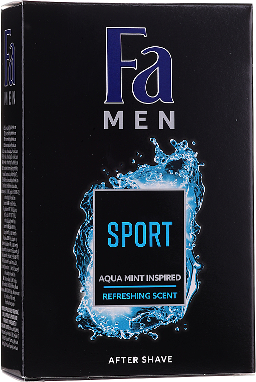 PRZECENA! Zestaw - Fa Men Sport (sh/gel/250ml + deo/spray/150ml + ash/lot/100ml) * — фото N5
