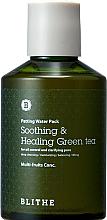 Kup Kojąco-uzdrawiająca zielona herbata do twarzy kontrolująca wydzielanie sebum i oczyszczająca pory - Blithe Patting Splash Mask Soothing Green Tea