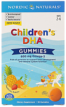 Kup Kwas Omega-3 w żelkach dla dzieci - Nordic Naturals Children's DHA Gummies