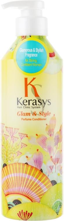 Perfumowana odżywka do włosów suchych i zniszczonych - KeraSys Glam & Stylish Perfumed Rinse — фото N1
