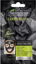 Kup Oczyszczająca maska węglowa do cery mieszanej i tłustej - Bielenda Carbo Detox