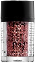 Kup Kremowy pigment do makijażu z metalicznym połyskiem - NYX Professional Makeup Foil Play