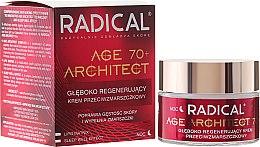 Kup Głęboko regenerujący krem przeciwzmarszczkowy do twarzy na noc 70+ - Farmona Radical Age Architect