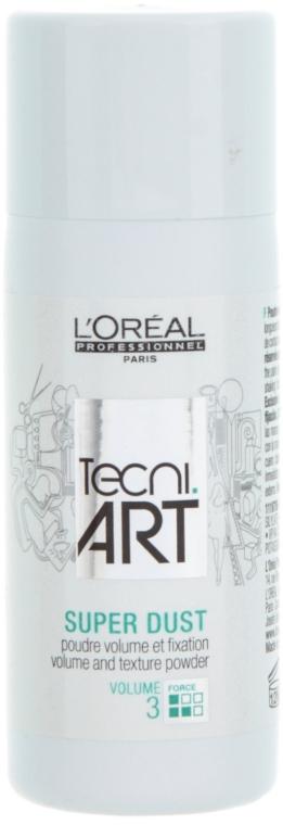 Teksturyzujący puder zwiększający objętość włosów - L'Oreal Professionnel Tecni.art Super Dust