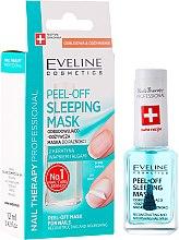 Kup Odbudowująco-odżywcza maska peel-off do paznokci - Eveline Cosmetics Nail Therapy Professional