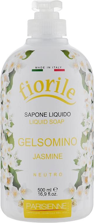 Mydło w płynie Jaśmin - Parisienne Italia Fiorile Jasmine Liquid Soap