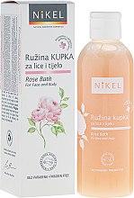 Kup Różany płyn do kąpieli do twarzy i ciała - Nikel Rose Bath