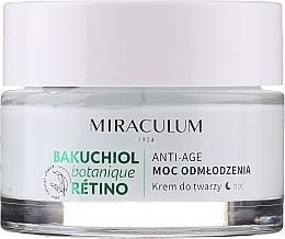 Krem do twarzy na noc - Miraculum Bakuchiol Botanique Retino Anti-Age Cream — фото N3