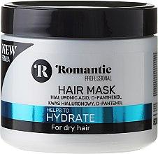 Kup Nawilżająca maska do włosów suchych z kwasem hialuronowym i d-panthenolem - Romantic Professional Hydrate