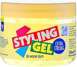 Kup Mocny żel do stylizacji włosów Żółty - Hegron Styling Gel Extra Strong