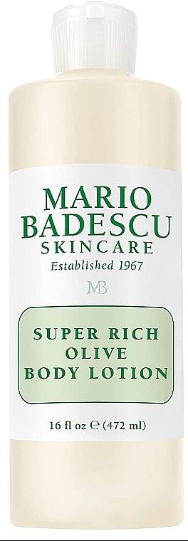 Balsam do ciała z oliwką - Mario Badescu Super Rich Olive Body Lotion  — фото N1