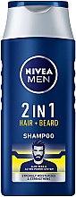 Kup Szampon 2 w 1 dla mężczyzn do włosów i brody - Nivea Men 2in1 Protect & Care Shampoo