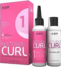 Kup Zestaw - Affinage Salon Professional Natural Curl Perm No.1 + Fix (neitraliser/100ml+hair/lot/100ml)