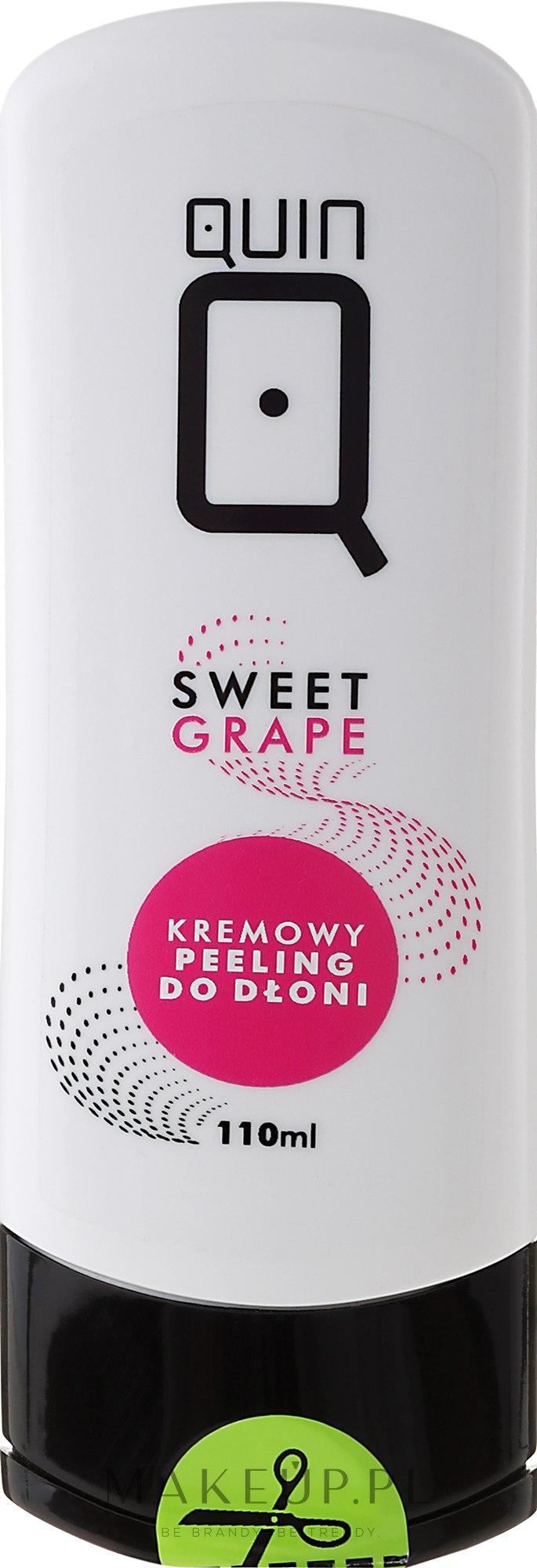 Kremowy peeling do dłoni Słodkie winogrono - Silcare Quin — фото 110 ml