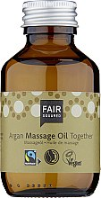 Kup Arganowa oliwka do masażu ciała - Fair Squared Argan Massage Oil Together