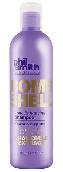 Szampon do włosów rozjaśnianych wzmacniający kolor - Phil Smith Be Gorgeous Bombshell Tone Enhancing Shampoo — фото N1